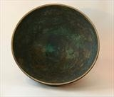Detail, blue green feldspathic glaze by Norman Yap, Ceramics, Stained stoneware