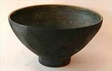 Thrown and altered stoneware bowl by Norman Yap, Ceramics, Stained stoneware